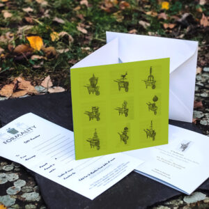 Formality at The Cowshed Gift Voucher & Card