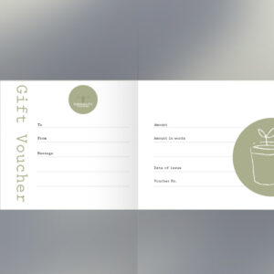 Formality In-Store Postal Gift Voucher