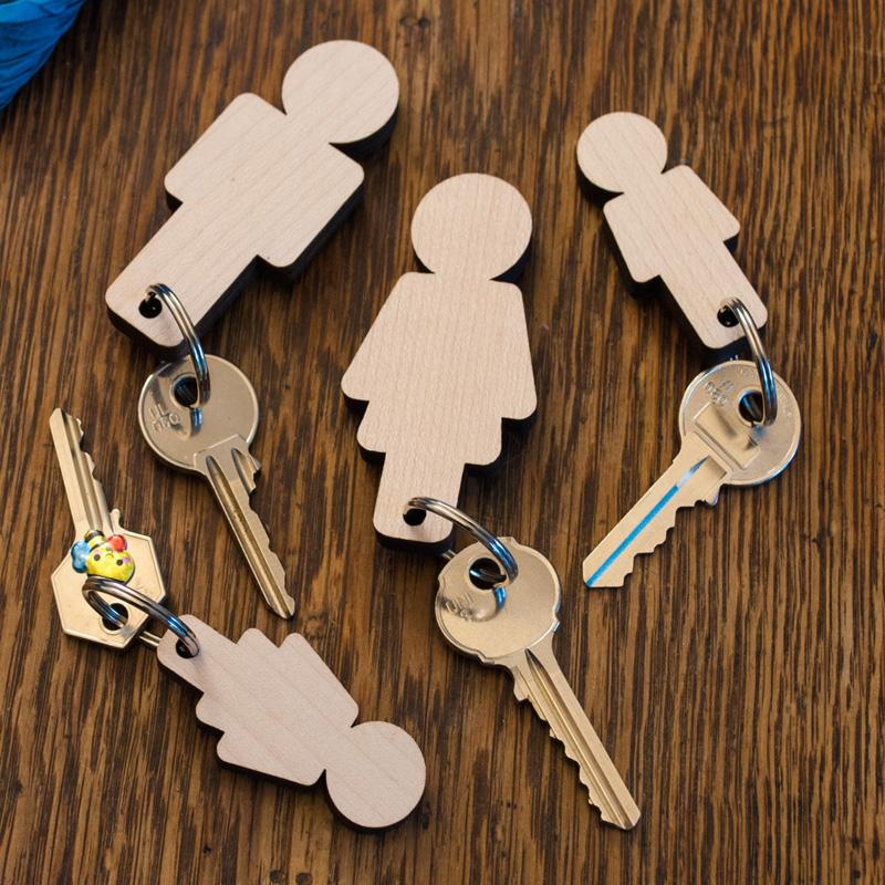Home Sweet Home Wooden Family Key Holder