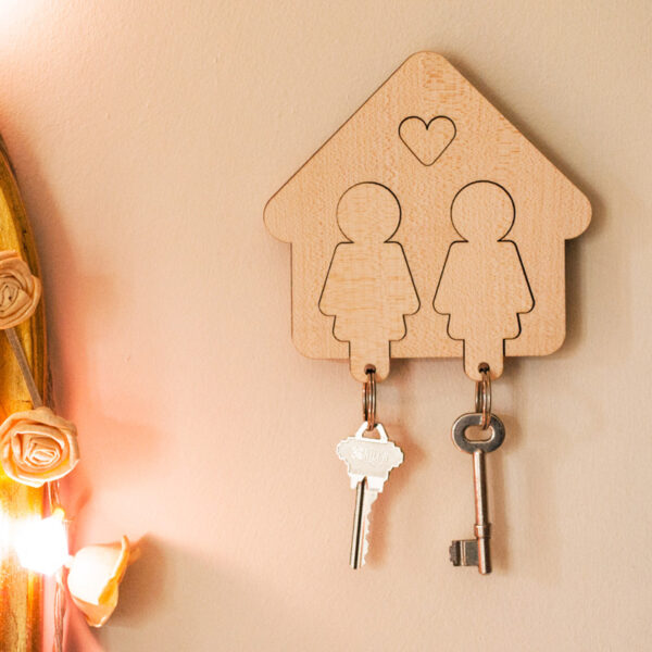 Hers & Hers Key Holder