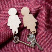 Hers & Hers Key Holder