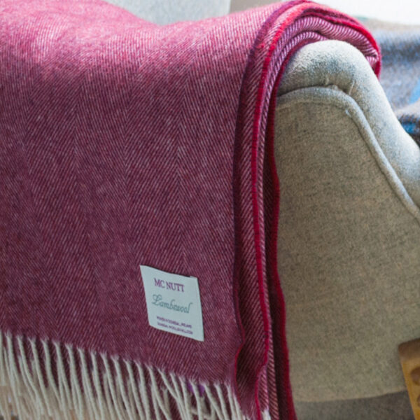 McNutt Wine & Biscuits Reversible Throw