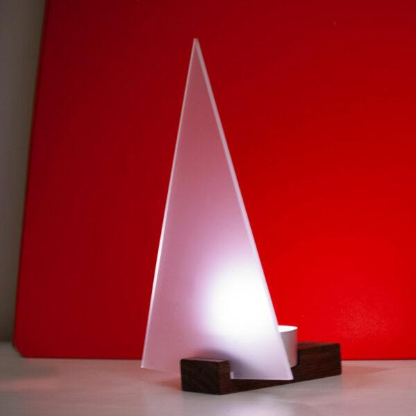 Perspex Tree & Tea Light