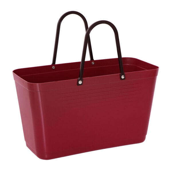 Hinza Eco Bag Maroon Large