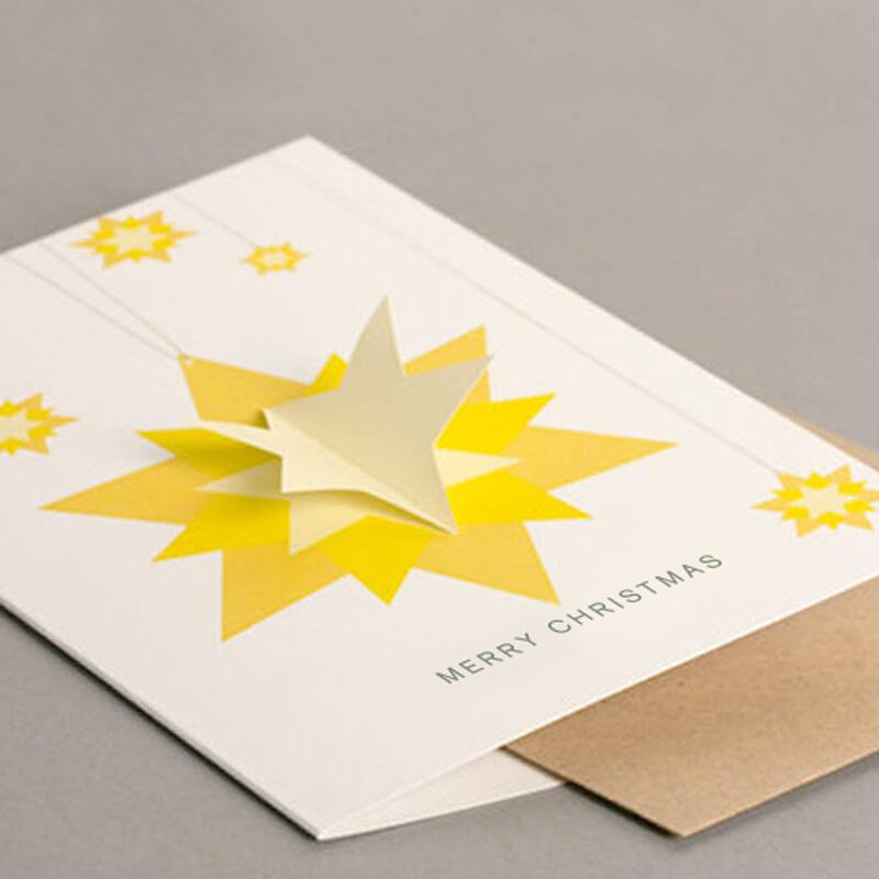 3D Star Card
