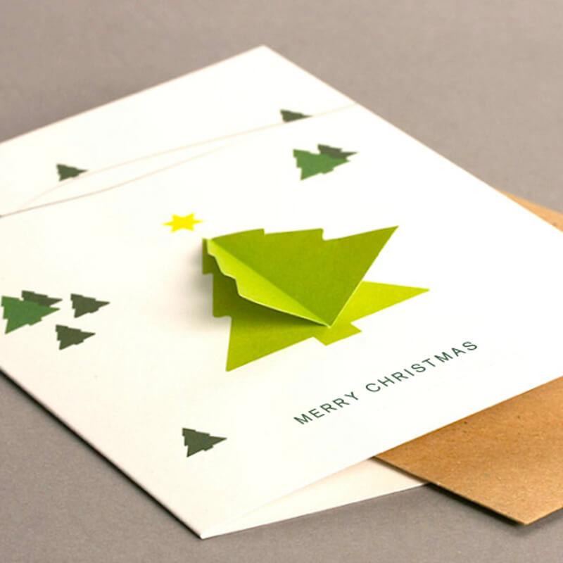 3D Tree Card