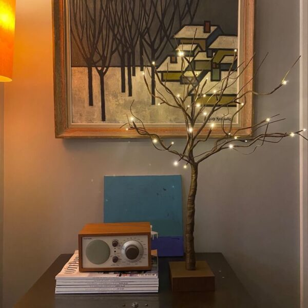 Battery Indoor Twig LED Tree