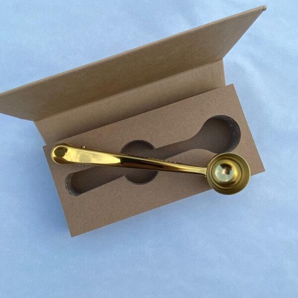 Brompton Coffee Scoop & Bag Clip