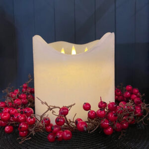 Sirius 3 Wick Battery Candle