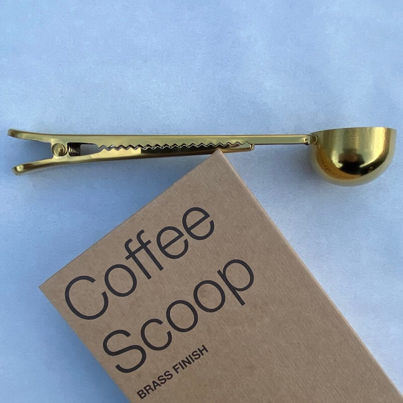 Brompton Coffee Scoop & Bag Clip