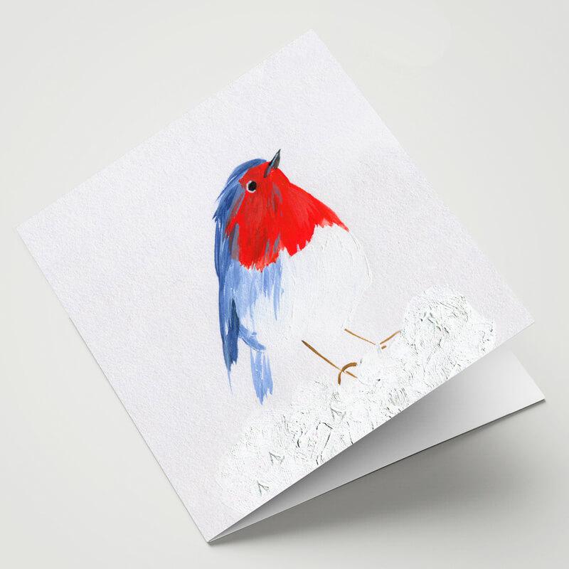 Maggie O'Dwyer Robin Redbreast Card
