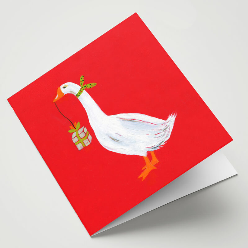 Maggie O'Dwyer The Happy Goose Card