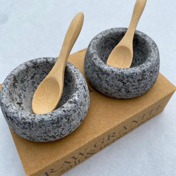 Granite Salt & Pepper Pots