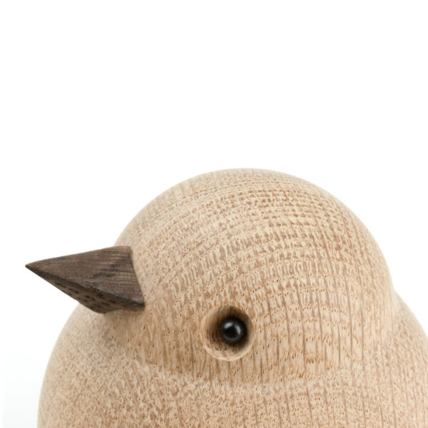 Wooden Sparrow Detail