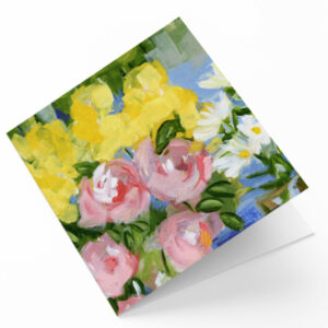 Maggie O'Dwyer Art Cards - Peonies (Paeonia)