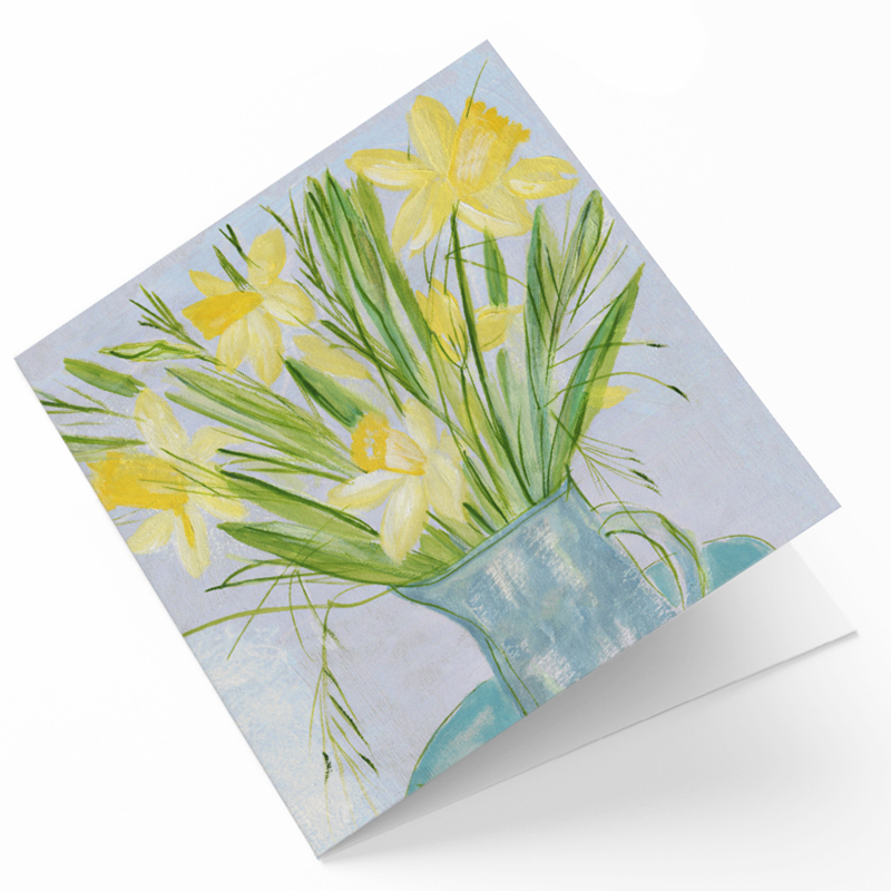 Maggie O'Dwyer Art Cards - Daffodils (Narcissus)