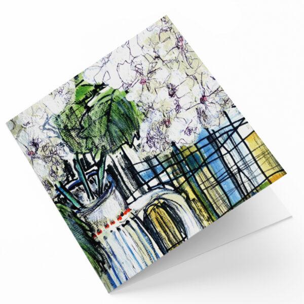 Maggie O'Dwyer Art Cards - Hydrangeas