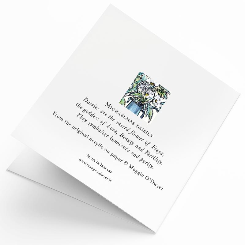 Maggie O'Dwyer Art Cards - Michaelmas Daisies